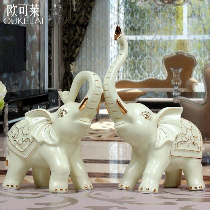 European style luxury gold ceramic TV cabinet ornaments as wedding gifts wedding couple bestie housewarming gift #Affiliate