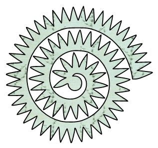 Paper This And That: Two Rolled Flower SVG Files