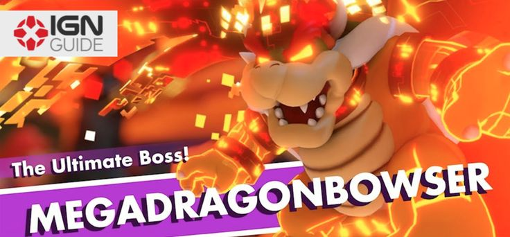 World 4 Boss: Megadragonbowser - Mario  Rabbids Kingdom Battle Walkthrough IGN's guide to beating the boss of World 4 - Lava Pit in Mario  Rabbids Kingdom Battle. This video shows one of the many ways you can defeat Megadragonbowser under par using Mario Rabbid Peach and Luigi. September 20 2017 at 05:40PM  https://www.youtube.com/user/ScottDogGaming