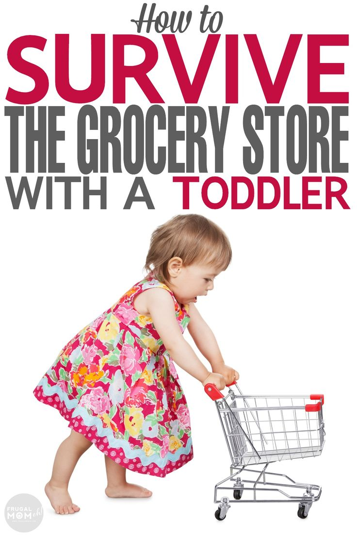 How to Survive the Grocery Store with a Toddler with these great parenting tips and advice!