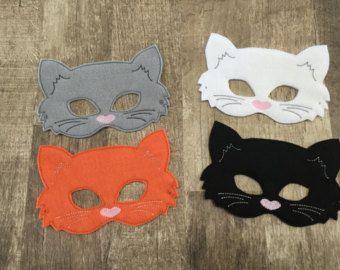Cat Mask PDF Pattern by oxeyedaisey on Etsy