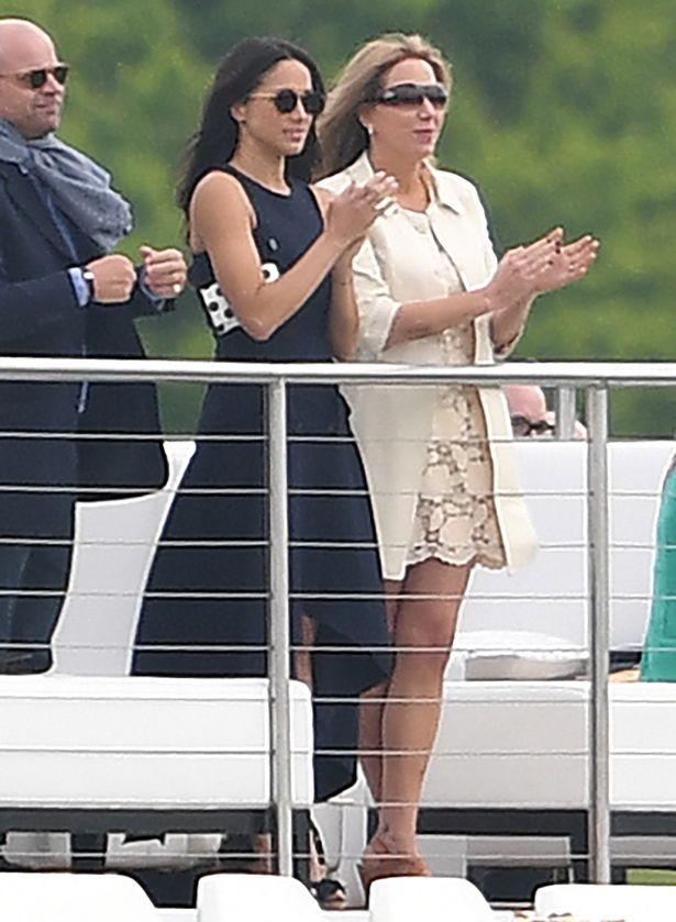 prince harry meghan markle | Prince Harry and Meghan Markle: POLO MATCH PDA!