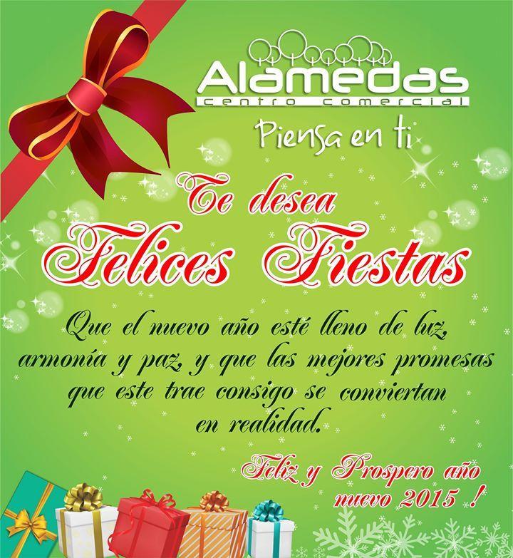 Gracias por compartir con nosotros un año mas. Tú haces parte de la Familia Alamedas Centro Comercial #Piensaenti