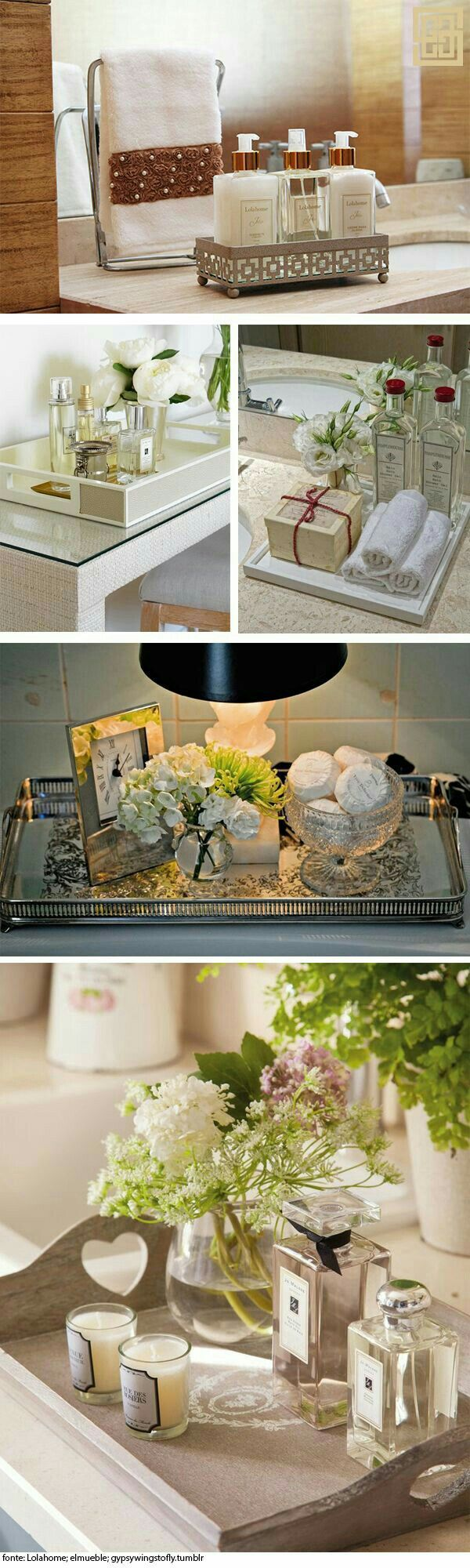 Bathroom flowers decor - Items Necessary For Only The Most Luxurious Bathroom