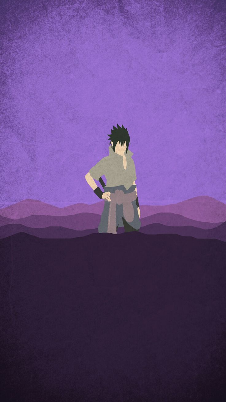 Naruto minimalist mobile wallpaper minimalist for Deviantart minimal wallpaper
