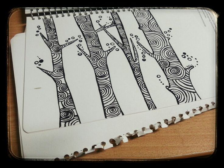 I was using a 334-9 staedtler fineliner, and it was made on my way to Wynnum. Yeah, on the train!!