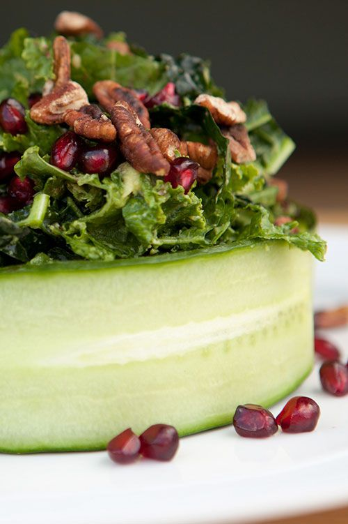 How To Fancy Up Your Kale Salad When In Doubt Wrap It