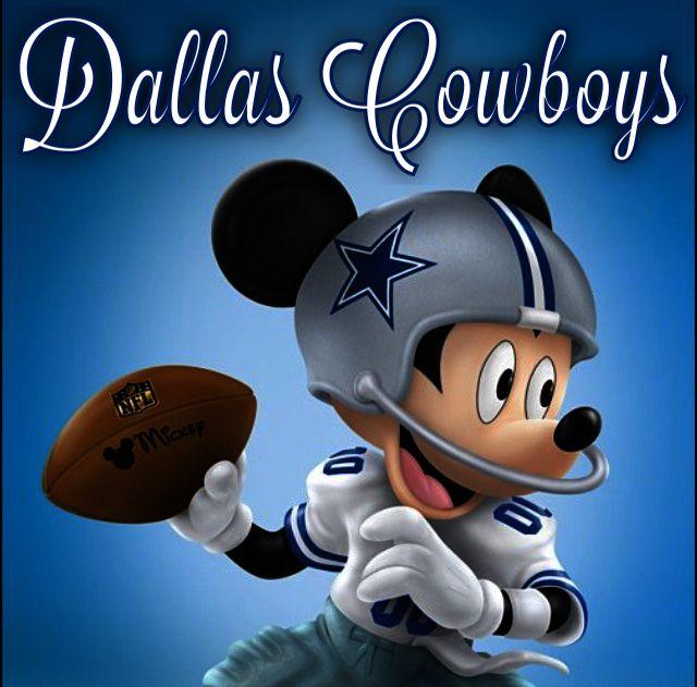 Dallas Cowboys Mickey Mouse