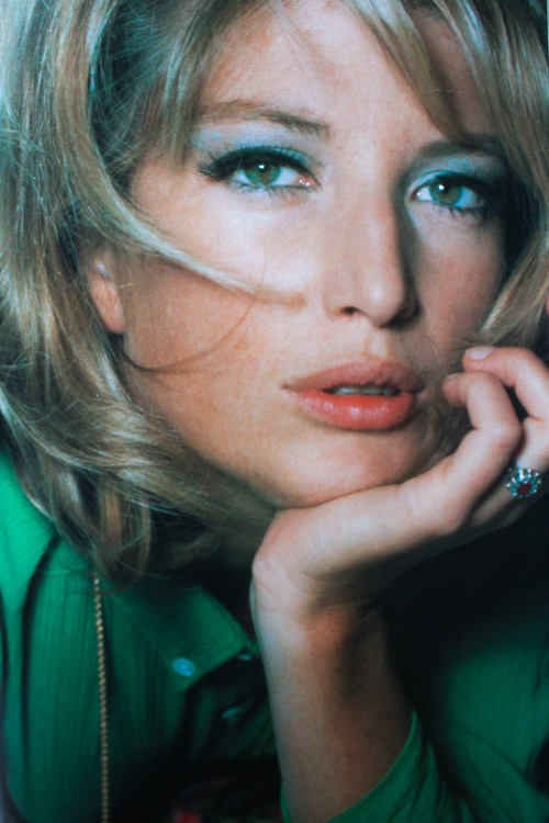 A beautiful photo of the Italian actress Monica Vitti, captured in 1965. She starred in the wildly popular 1966 film, Modesty Blaise.