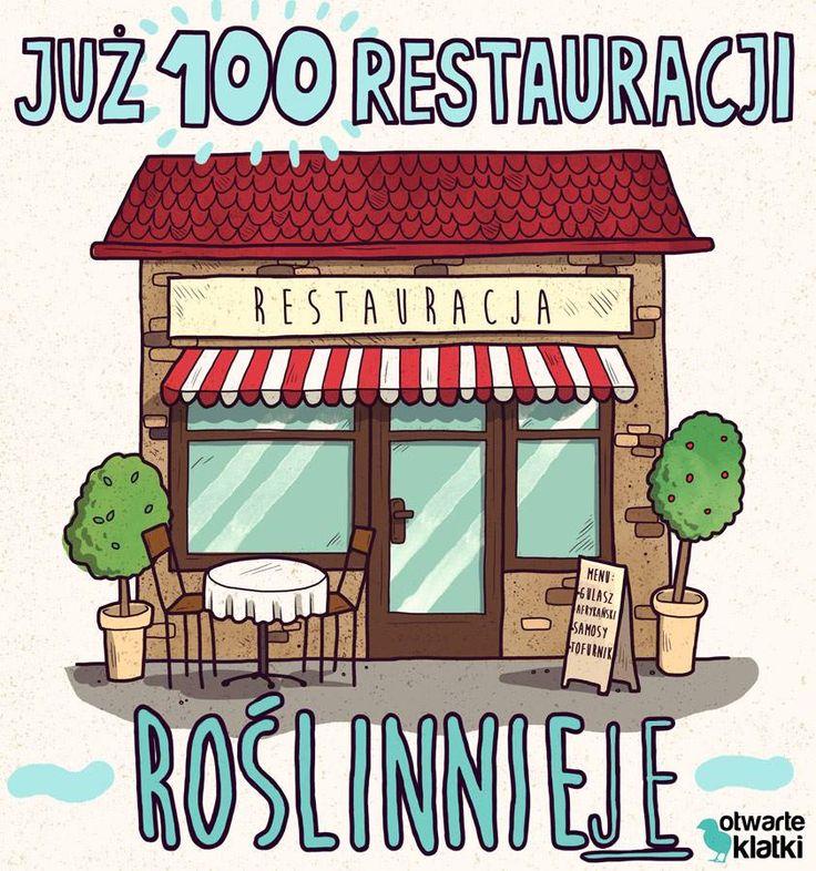 #roslinniejemy www.otwarteklatki.pl/roslinniejemy-kampania-restauracyjna/