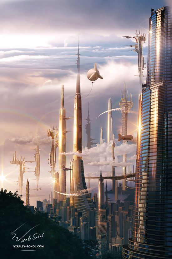 Futuristic City | Futurology | | Futurism | https://biopop.com/