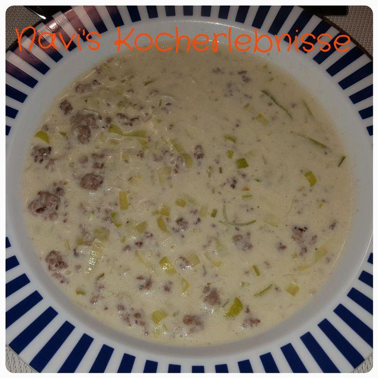 25+ ide terbaik Käse lauch suppe rezept di Pinterest Hackfleisch - käse lauch suppe chefkoch