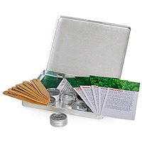 The Plant! Herb Seed Kit. For those friends and family that like to garden!!  http://www.uncommongoods.com/product/the-plant-herb-seed-kit