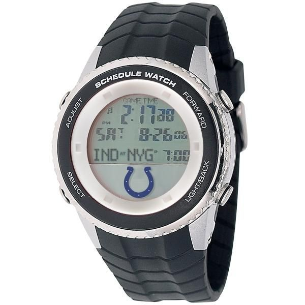 Licensed NFL Indianapolis Colts Schedule Watch https://www.fanprint.com/licenses/indianpolis-colts?ref=5750