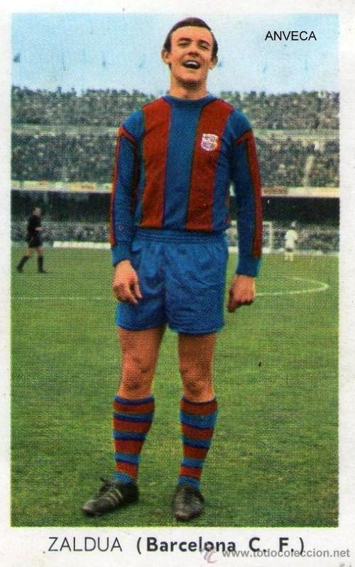 ZALDUA (F.C. Barcelona - 1970-71) Ed. Fher