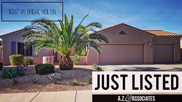 2 Bed | 2.5 Bath | 2,356 SqFt  This incredible home located in Sun City Grand just hit the market today. For my information or to schedule a private showing, call me today! . . . . . . . . . . #agentallie #new #newlisting #fresh #property #homesales #home #homesweethome #retire #golf #goals #sunshine #wannabuyahouse #justlisted #azhomes #azhousing #azrealtor #azrealestate #realtoraz #azlocal #az #suncity #surprise #phoenix #suncitygrand #lux #luxlife #luxurylife #buy #realtorlife…