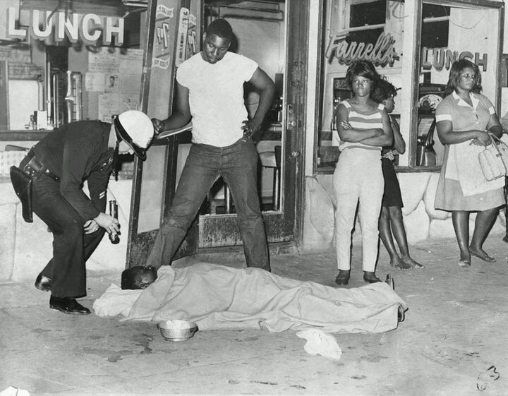 Martin luther king jr riot