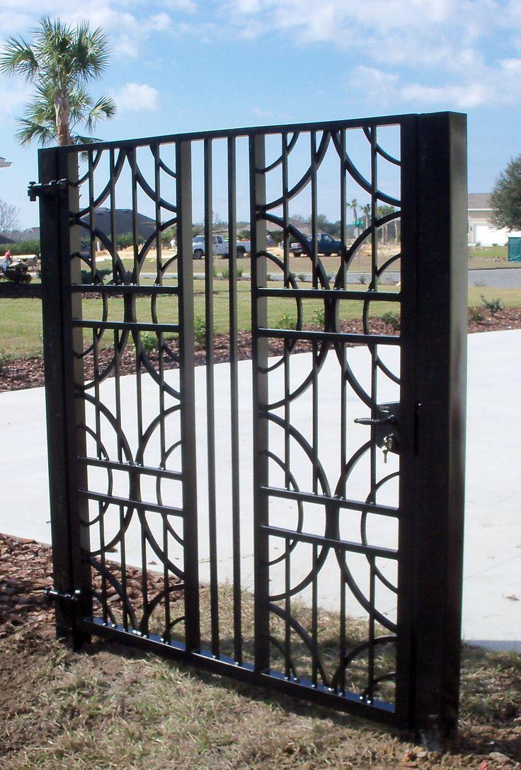 8 Best Metal Gates Images On Pinterest Metal Gates