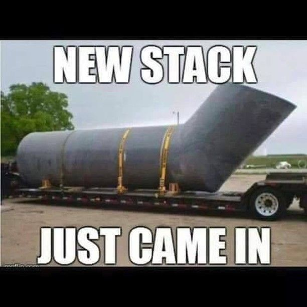 Go big or go home is the saying right...? #TheRoughneck #Stacks #RoughneckMagazine #Roughneck #Alberta#MeanWhileInAlberta #TheRoughneck #RoughneckLifestlye #OilfieldLifestyle