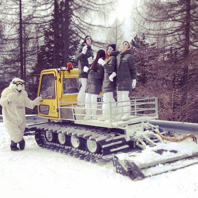 #bosidengItaly @ Cortina d'Ampezzo!