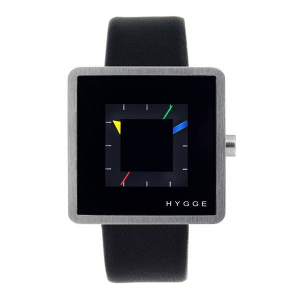 Hygge 2089 Series Black / Black Leather