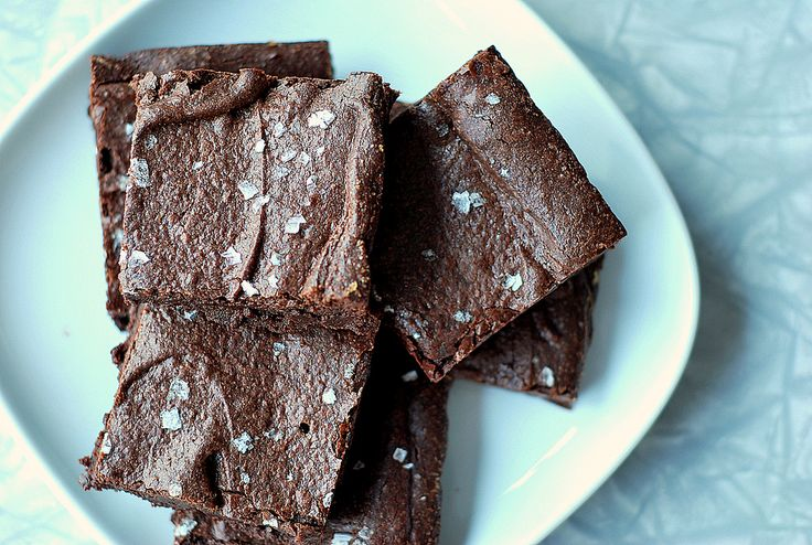 quick fudge brownies from Cream and Sugar - perfect w/ dash of peppermint essence but go under on baking time
