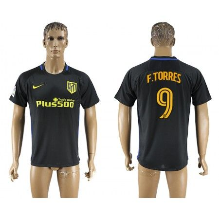 Atletico Madrid 16-17 #Fernando Torres 9 Bortatröja Kortärmad,259,28KR,shirtshopservice@gmail.com