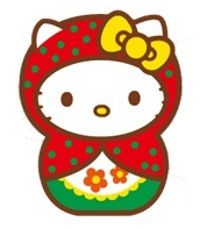 Hello Kitty matriochka