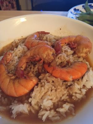 Little Bit of Everything: New Orleans BBQ Beer Shrimp