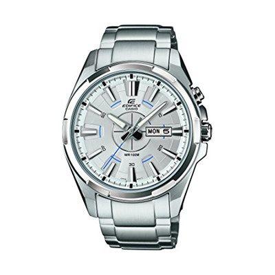 Chollo en Reloj Casio Edifice EFR-102D-7AVEF  Si buscas un reloj Casio EDIFICE barato, echale un vistazo a este modelo de 2014.  Chollo en Amazon España: Reloj Casio Edifice EFR-102D-7AVEF por solo 71,18€, es decir, un 35% de descuento sobre el precio de venta recomendado