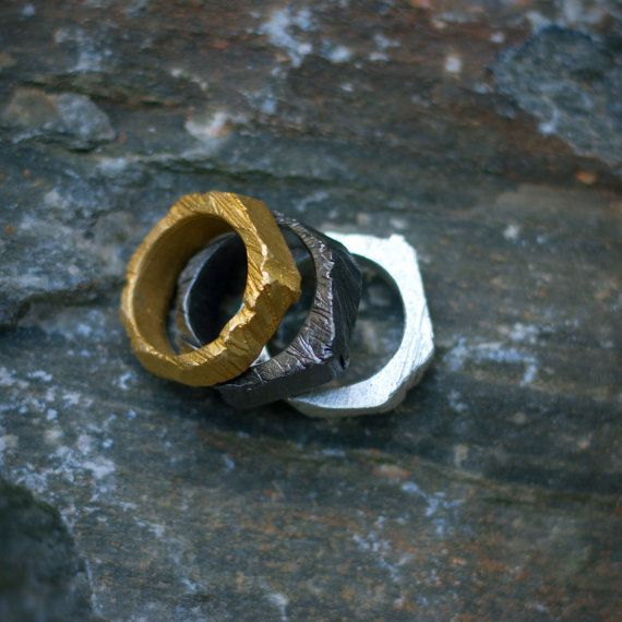 alchemy double ring by mariasolorzano on Etsy, $55.00