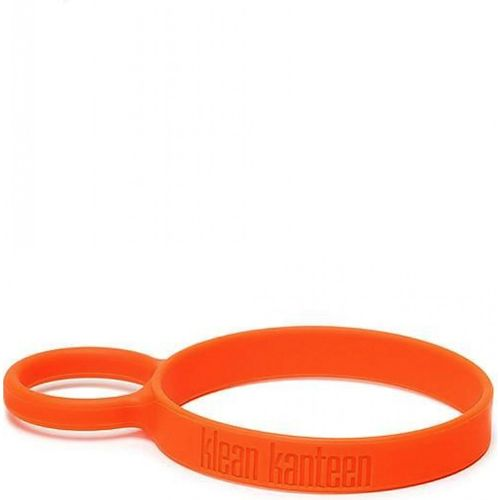 Klean Kanteen Silicone Pint Cup Ring Orange Removable Loop Handle Attachment