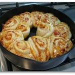 The Chefs Toolbox | Saute Pan | Pizza Scrolls