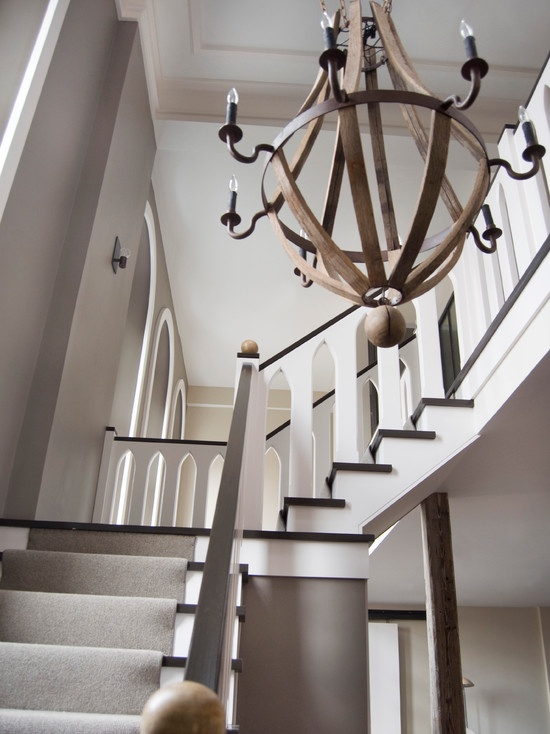 Modern Spaces Wood Chandelier Design Pictures Remodel