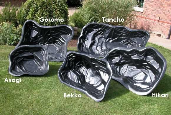 Plastic Preformed Garden Pond Liners Make your landscape interesting with the use of a water fountain