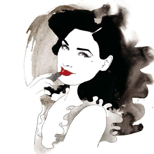 Portrait series for Telegraph's Stella magazine by Judit García-Talavera, via Behance