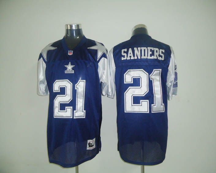 ... Titans Marcus Mariota 8 jersey Mitchell Ness Cowboys 21 Deion Sanders  Blue Stitched Throwback. Cowboys White NFL Deion Sanders Dallas Cowboys Road  ... 7a38905b4