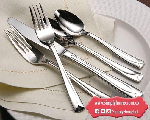 Un detalle para tu comedor con cubiertos #Oneida #Christmas #Gifts #SimplyHome #SimplyHomeCol #Simply #Home #Decoracion