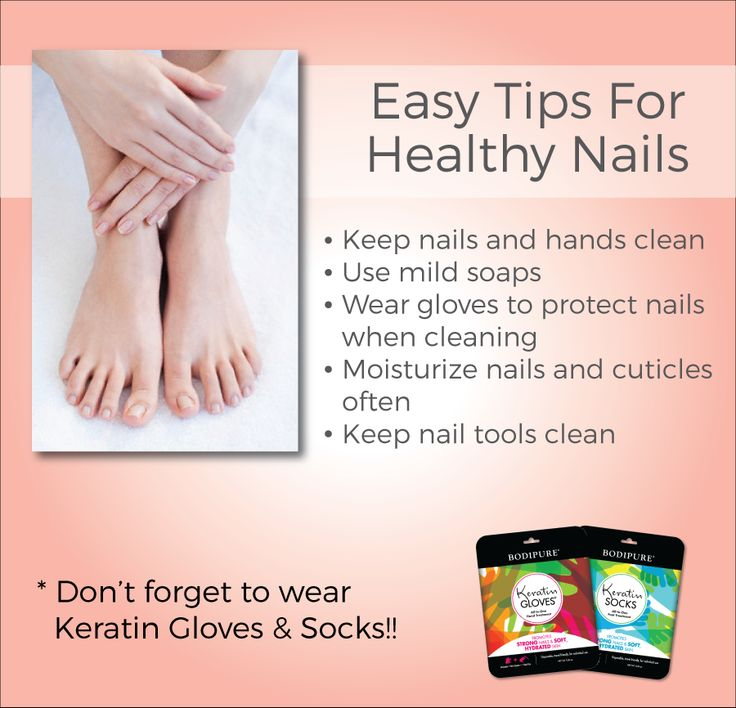 Easy Tips For Healthy Nails Useful Pinterest