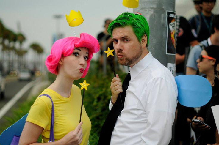 cosmo cosplay and Wanda