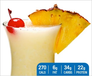 Designer Whey   Piña Protein Colada