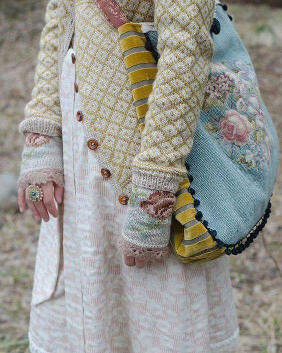 Pinterest pic ….love everything here #springlook #needlepoint #woolcardigan#if…
