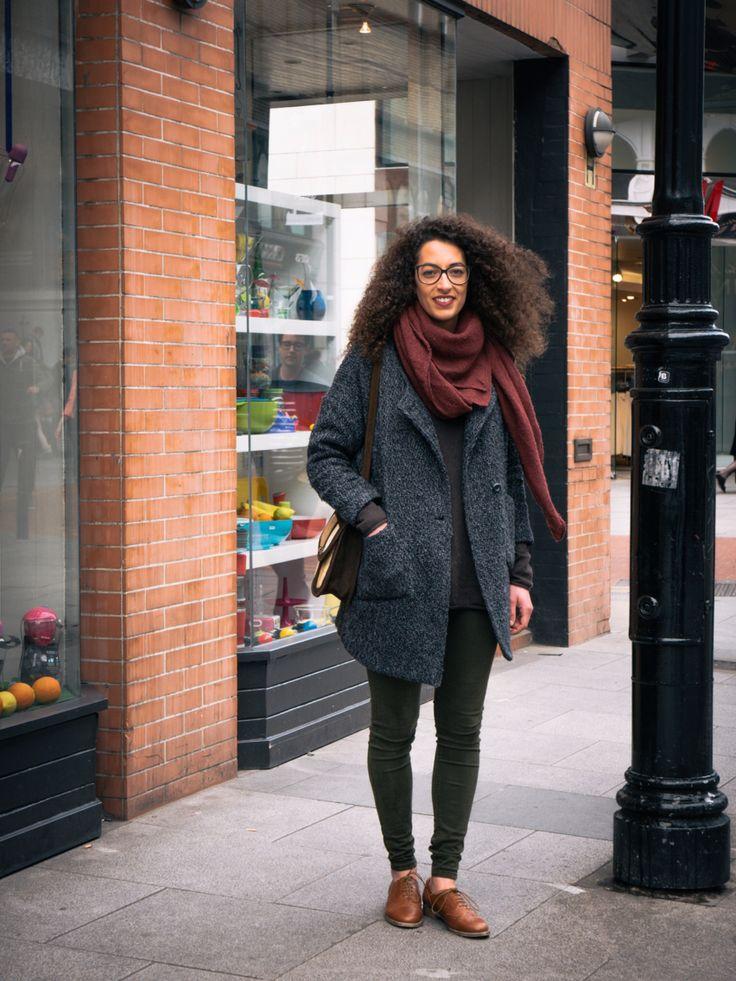 Gorgeous jacket gorgeous gal