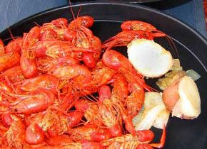 : Seafood Recipe, Fish Seafood, Health Food, Crabs Boiled, Christmas, Maine Cour, Crawfish Boiled Recipe, Crawfish Boil Recipes, Peanut Butter Ball