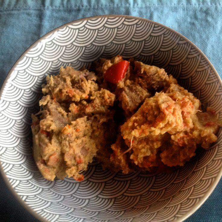 Rendang, spicy beef