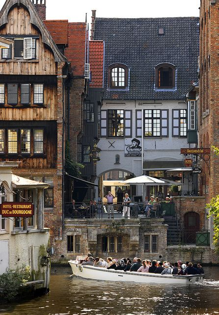 Bruges, Belgium.  So charming, reminds me of my mother/daughter day trip with my cousin and our daughters.