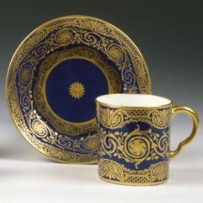 Sèvres Cup & Saucer, circa 1780