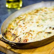 fennel, squash and courgette gratin: Recipes: Food