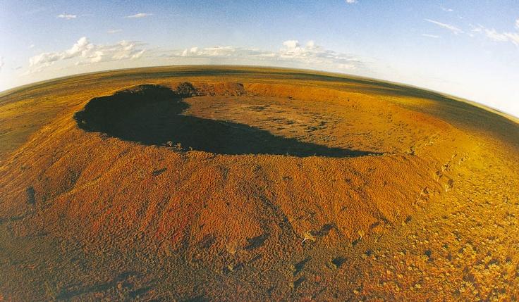 Wolfe Creek #meteorite Impact Crater, #Australia