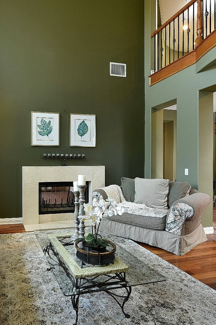 Olive Green Home Home Beautiful Home Designs Home Decor